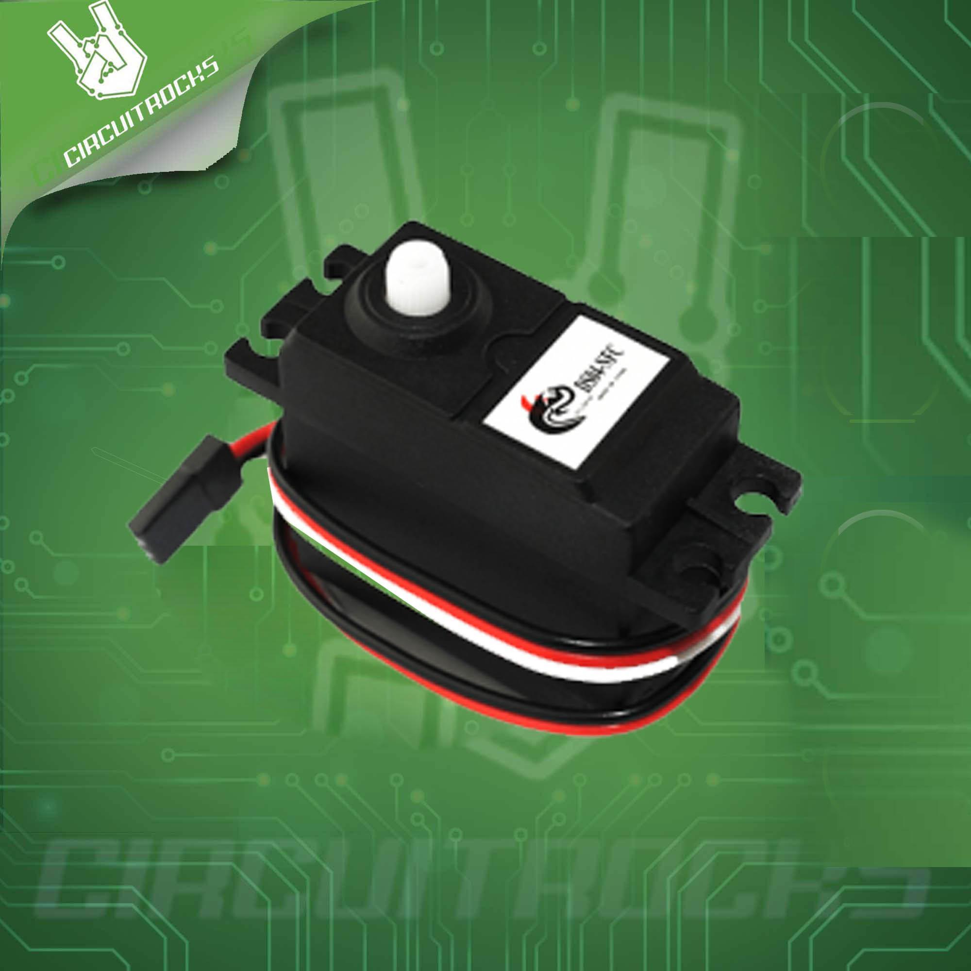 Servo DS04-NFC 360-Degree Continuous Rotation Servo DC Gear Motor  Arduino/Raspberry-Pi/Robotics
