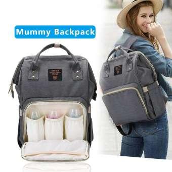 EsoGoal เด็กกระเป๋าเป้ผ้าอ้อมสะพายหลังแฟชั่นความจุสูงFashion Multifunctional Mummy Backpack Unti-dirty Maternity Nappy Diaper Bag Large Capacity Nursing Mother bag Travel Backpack-