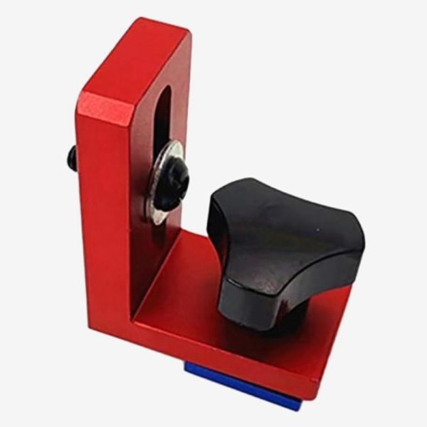Miter Track Stop T-Slot T-Tracks Woodworking Sliding Brackets Type T-Tracks T-Slot Backing Connector(30 Chute Connector)