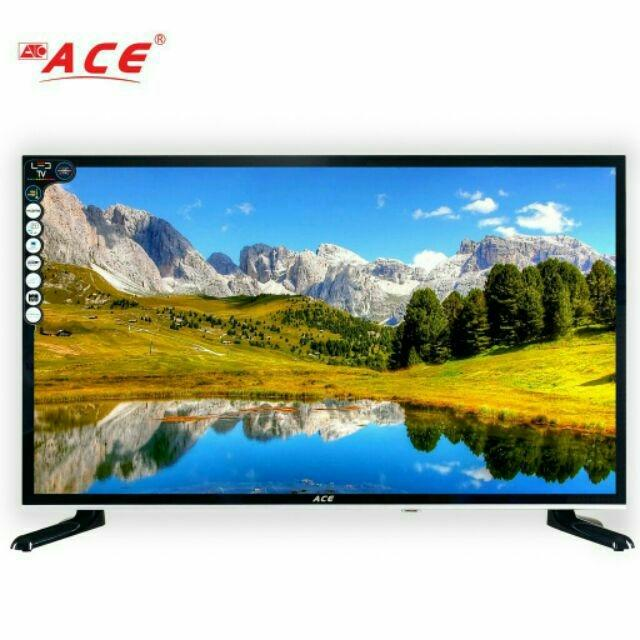2019 ACE 32 inches TV Glass-Slim Smart TV/ Computer input