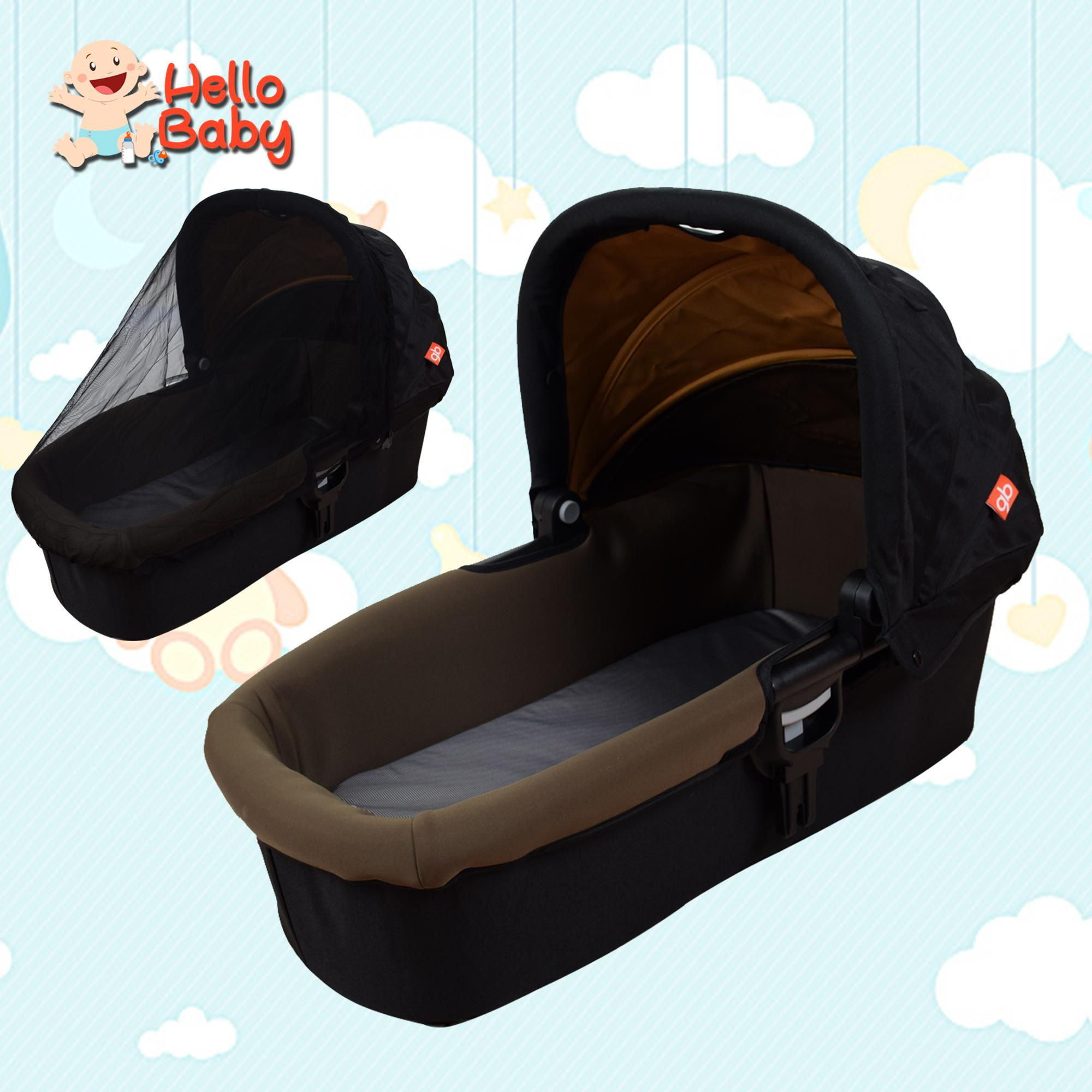 Hello Baby Gb Sl009 Baby Carrycot Moses Basket With Mosquito Net By Hello Baby.