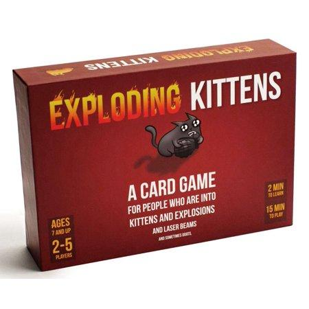 Exploding Kittens Card Game/ Party Board and Card Games/ Family Fun Game/  Kids and Adults