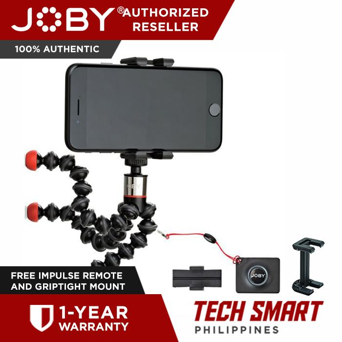 JOBY GripTight ONE GorillaPod Magnetic Impulse with Bluetooth Remote Shutter
