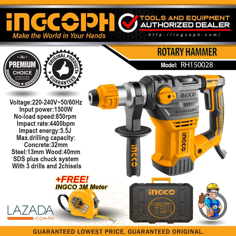 INGCO Industrial RH150028 Rotary Hammer