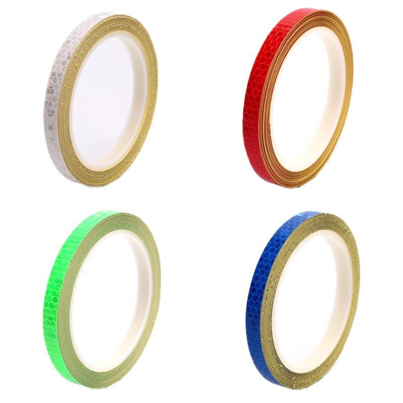 8M Bicycle Bike Car Motorcycle Reflective Stickers Night Riding Safety Tape