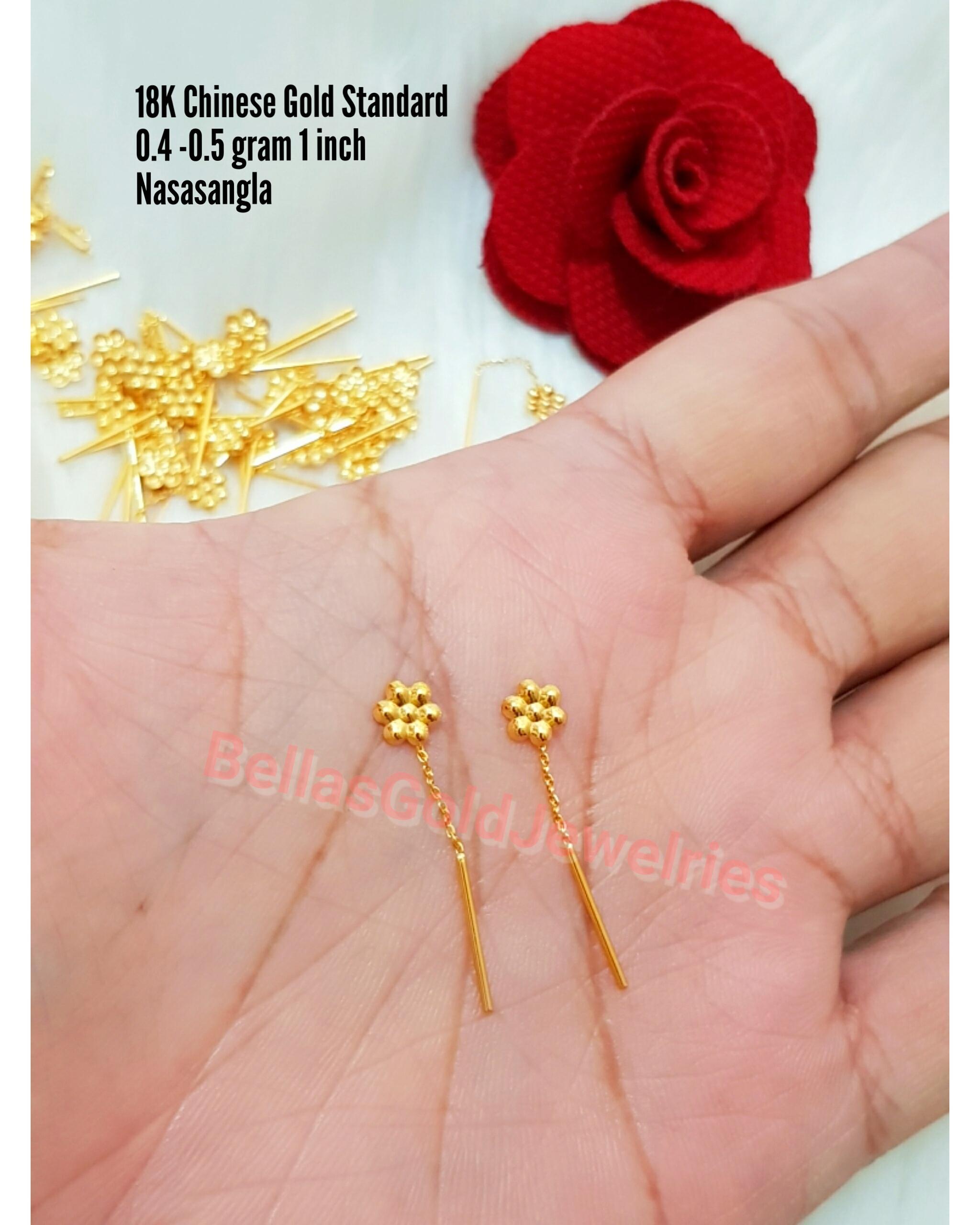 aa10955a4 Gold Earrings for Women for sale - Womens Gold Earrings online ...