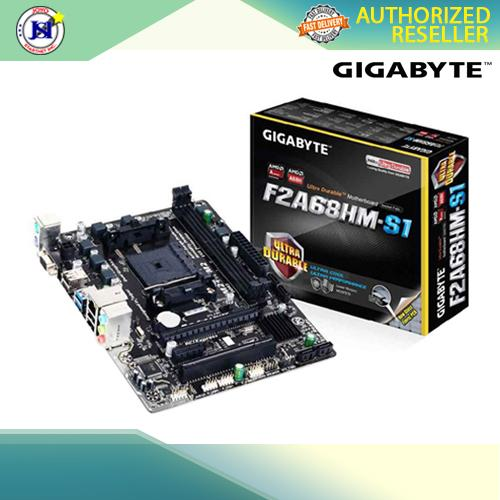 GIGABYTE GA-F2A68HM-S1 FM2+ DDR3 MOTHERBOARD