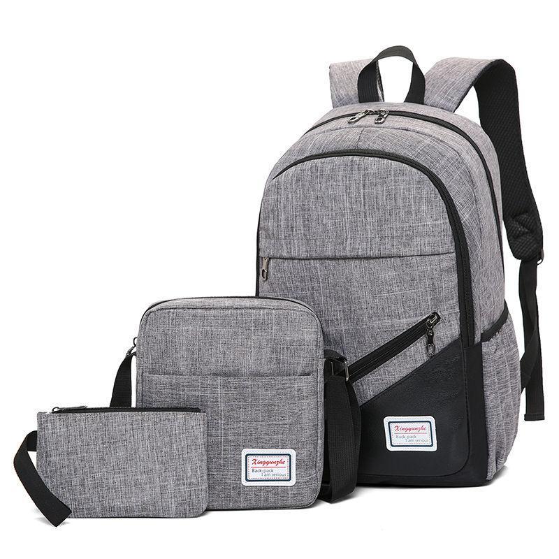 3 in 1 Men Backpack Travel Backpack Laptop Bag Laptop Backpack with Cross  Body Bag Sling a180dd5f5cc55