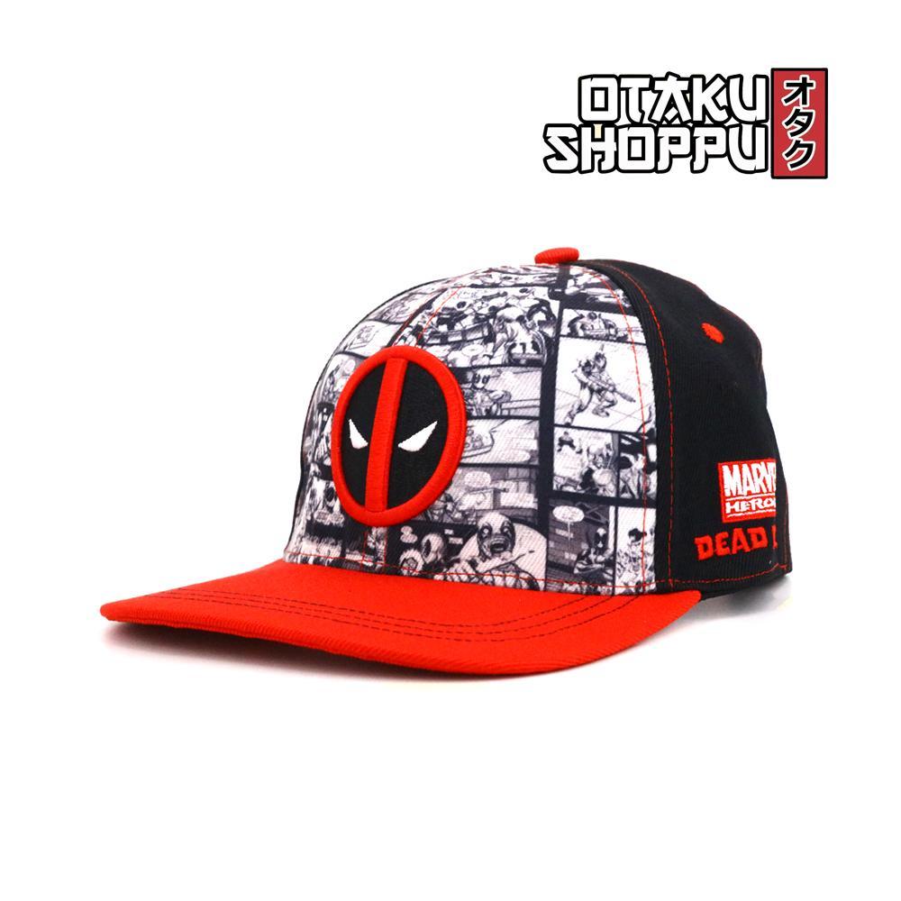 Otaku Shoppu Unisex Fashionable Snapback Cosplay Cap (DEADP00L CAP)