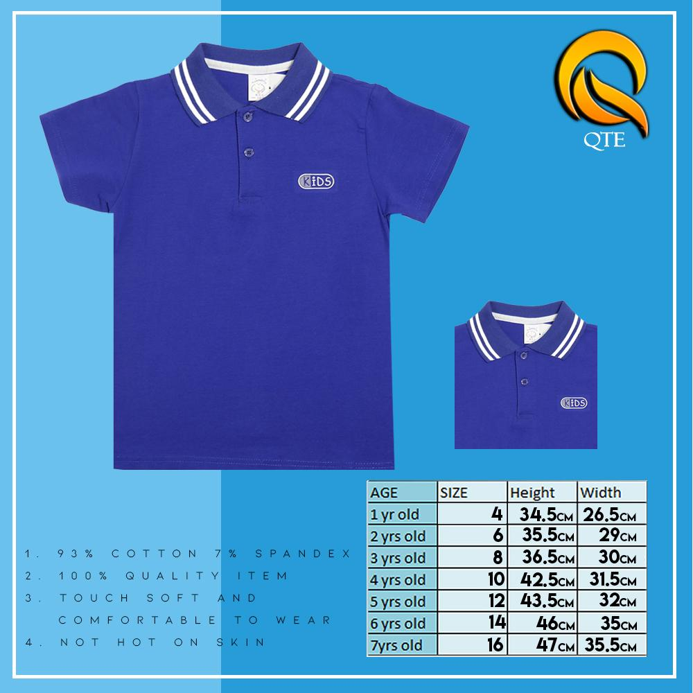 Polo Shirt For Boys 7112 Qte By Qte Online Shop.