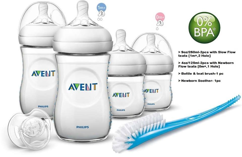 Avent Newborn Starter Set Natural By Everything Goes.