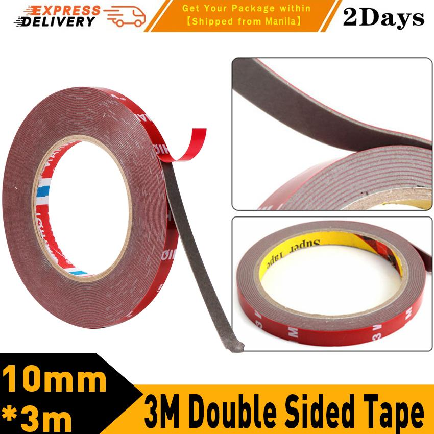 f2b5cdacd74 3M Double Sided Tape Adhesive Tape Acrylic Transparent No Traces Sticker  for LED strip Car Fixed