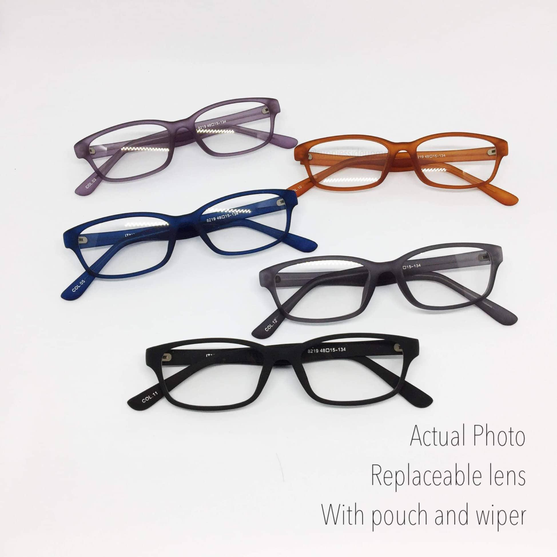 7627711b228 Kids Rubberized Eyeglasses – Replaceable Lens – Optical Frame 8219