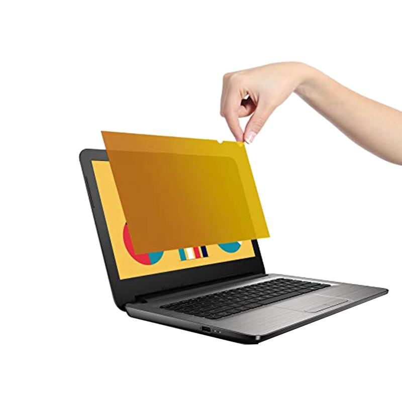 Gold Premium Privacy Screen Filter & Protector For Laptop Computers Gold