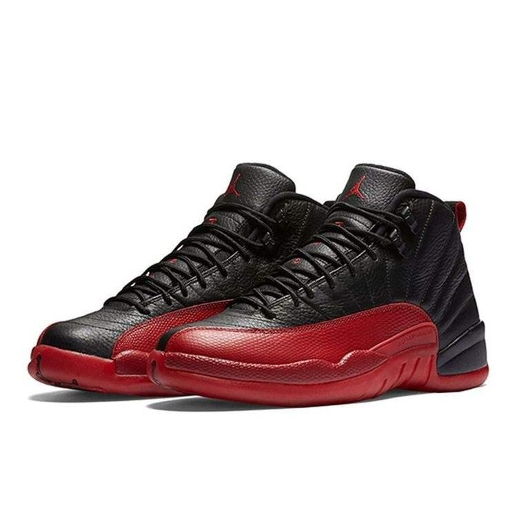 best website 601c3 2f237 Jordan 12 Basketball shoes and Running Warrior Shoes For Men Black red