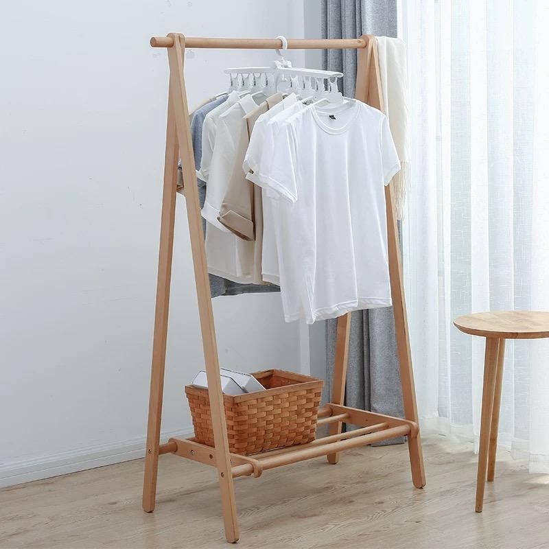 Foldable Clothes Hanger (White)