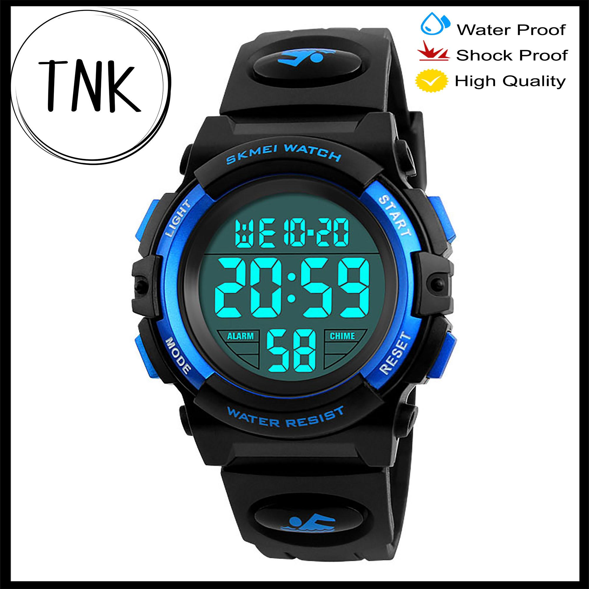 Creative Casual Digital Watch Children Waterproof Men Boy Led Digital Alarm Date Sport Led Light Watches Girls Digital Watches Back To Search Resultswatches