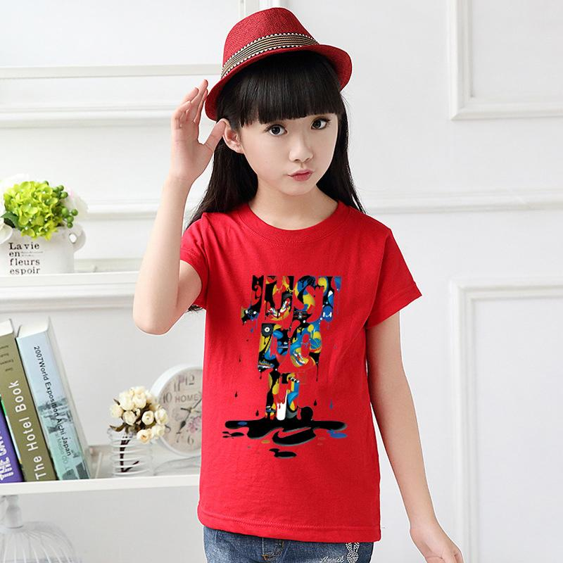 77007a420b965 Summer tshirt for kids T-shirt for girl's boy's tshirt Tee Tops Clothes  Girls Tshirt Clothes Just do it K1923