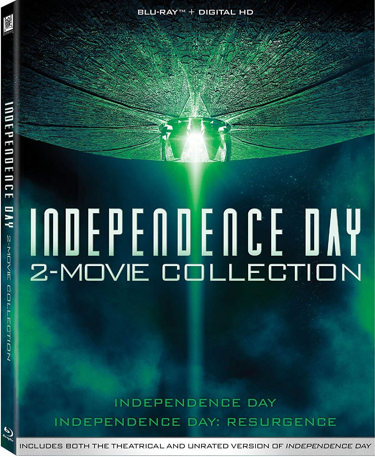 Independence Day 2 - Movie Collection [1080p HD Bluray]
