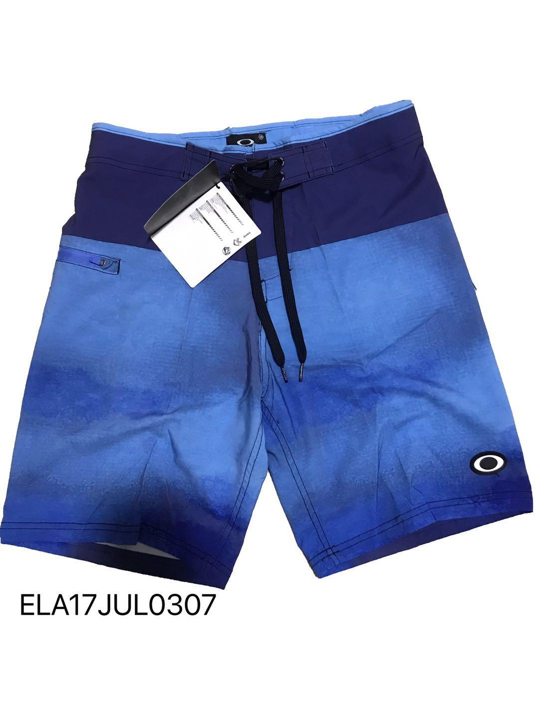 804031acbb ELA17JUL0307 Summer New Men's Beach Shorts Loose Print Quick-Drying Sports Surfing  Swimming