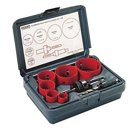 RIDGID Combination Hole Saw Kit Model 1250