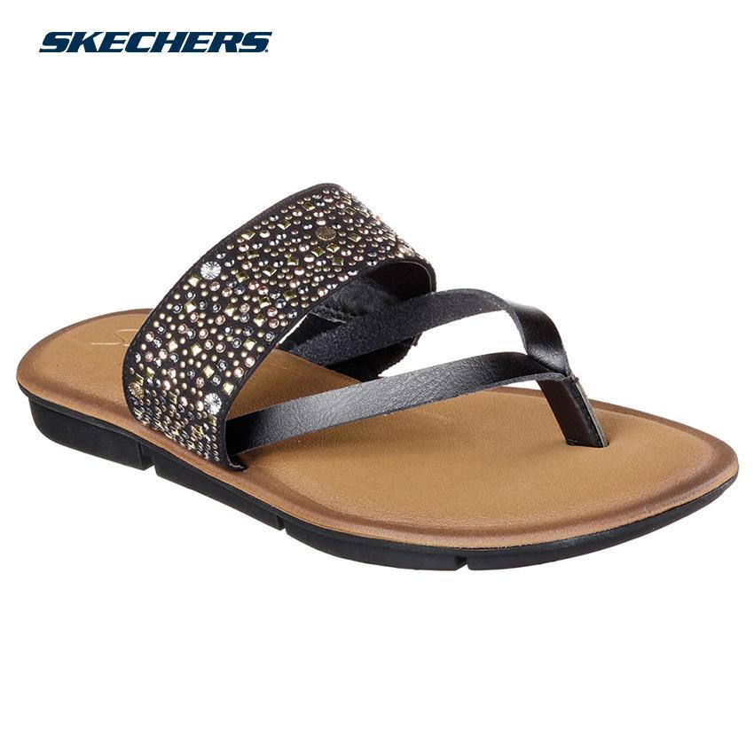 03accc217bb4 Skechers Women Indulge 2 Sandals - Fashion Footwear 38973-BLK (Black )