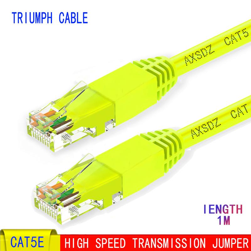 Cat5 New 15m Cat 5e Computer Network Cable RJ45 RJ45 UTP
