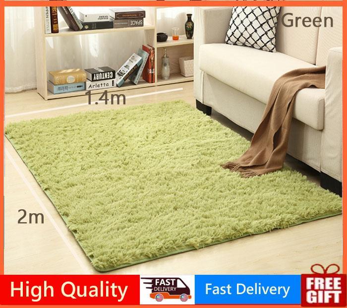 140X200cm Carpet Rugs Floor Mat/Cover Living Room Bedroom Yoga Mat Thickened Shaggy | Lazada PH