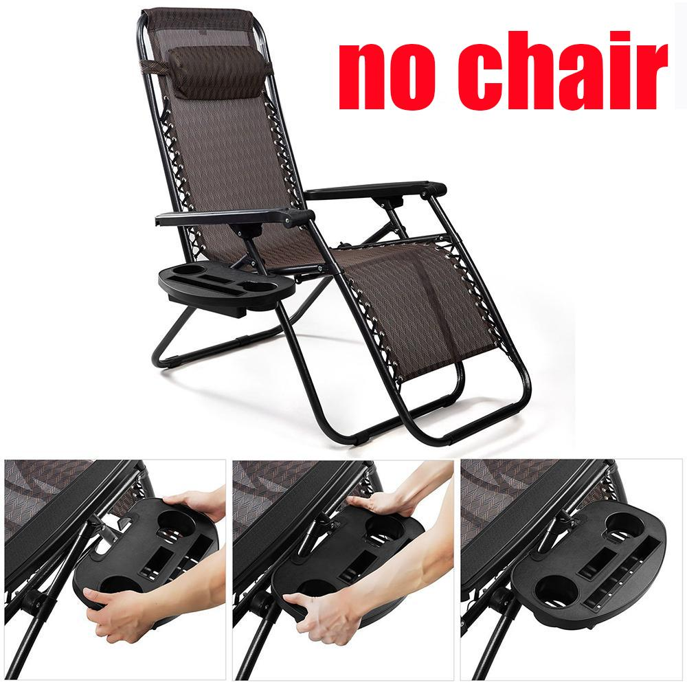 Oem Zero Gravity Chair Cup Holder, Versatile Utility Tray Table Clip On Recliner For I-Phone 7 P-Lus/ I-Pad(no Chair) By E-One.
