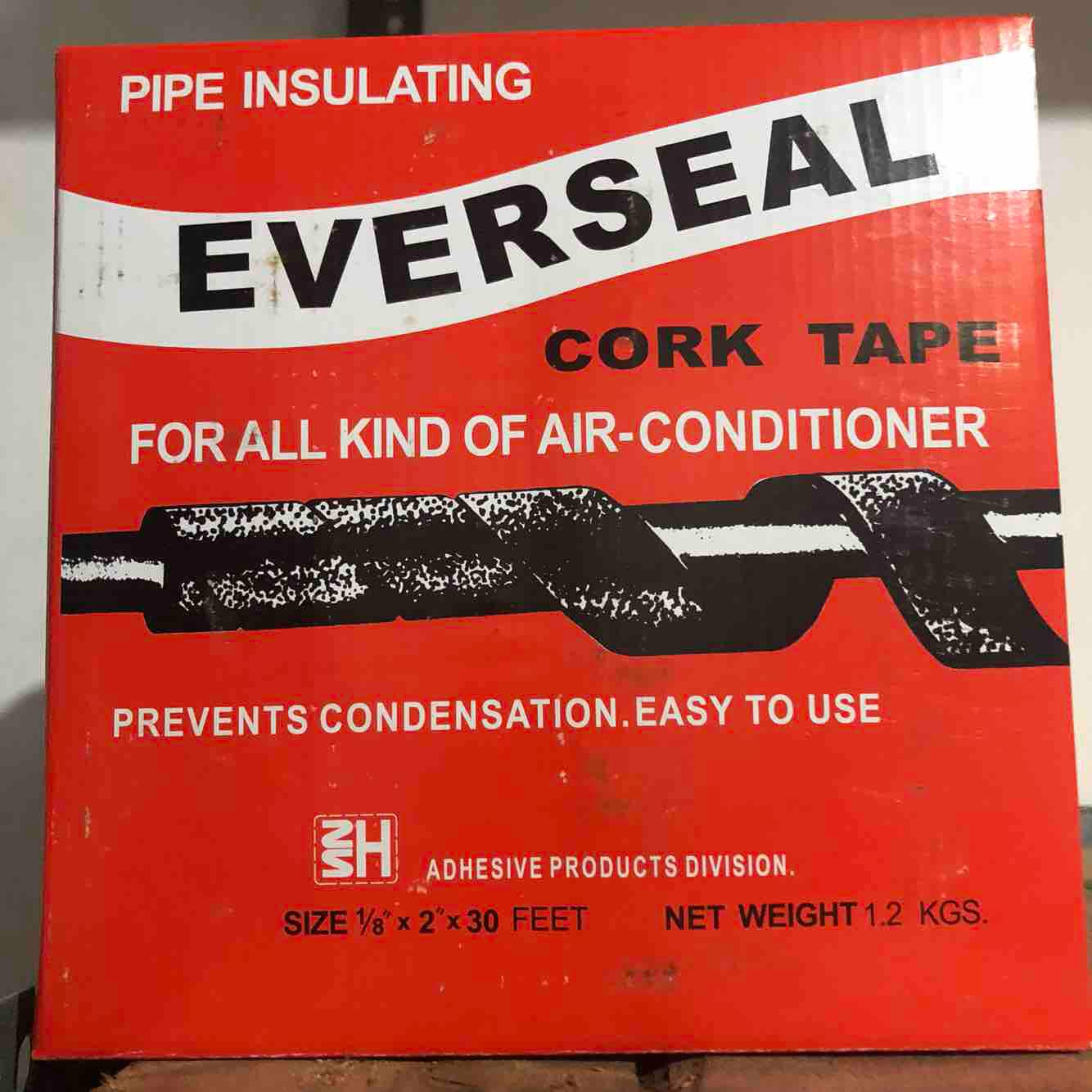 Everseal Cork Tape By Judy Tiu.