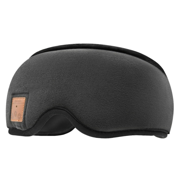 Sleep Mask, Bluetooth Sleep Headphones with Built-In Speakers, Wireless Sleep Eye Mask Music Player for Sleeping, Traveling, Yoga