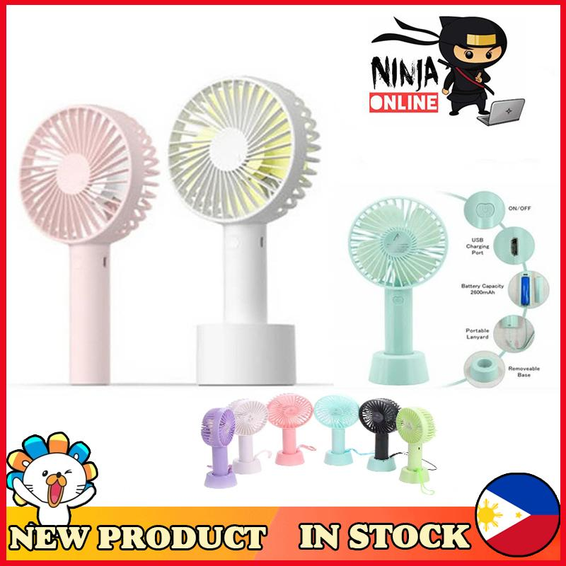 Small Air Conditioning Appliances Household Appliances Unique Led Love Pattern Handheld Mini Fan Super Mute Battery Operated For Cooling Cute Easy To Use