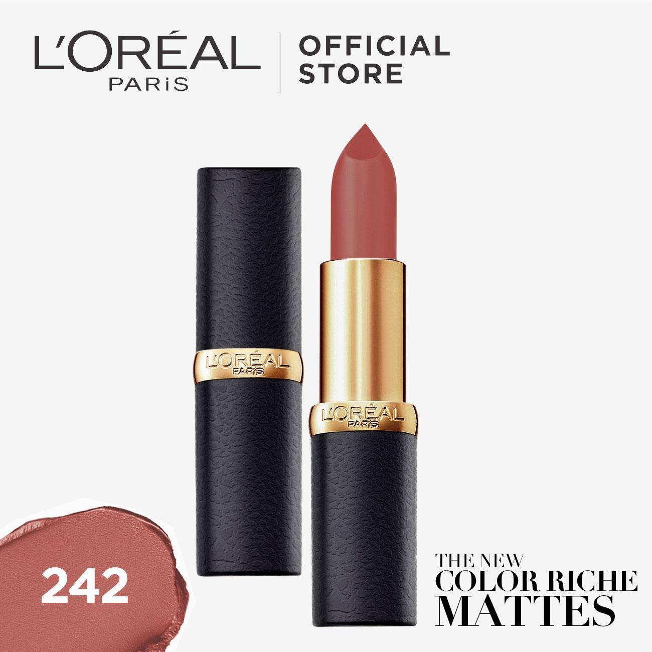 L'Oréal Paris Color Riche Matte Lipstick (Makeup)