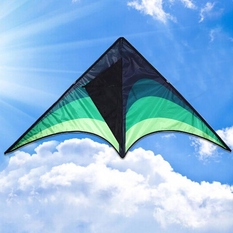 Large Delta Kite For Kids and Adults Single Line Easy 30M Kite Fly To Line with Kite H5Q7