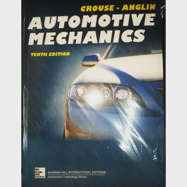 Automotive Mechanics 10th Edition By Crouse-Anglin By Jmm Electrical Electronics Communication Supplies.