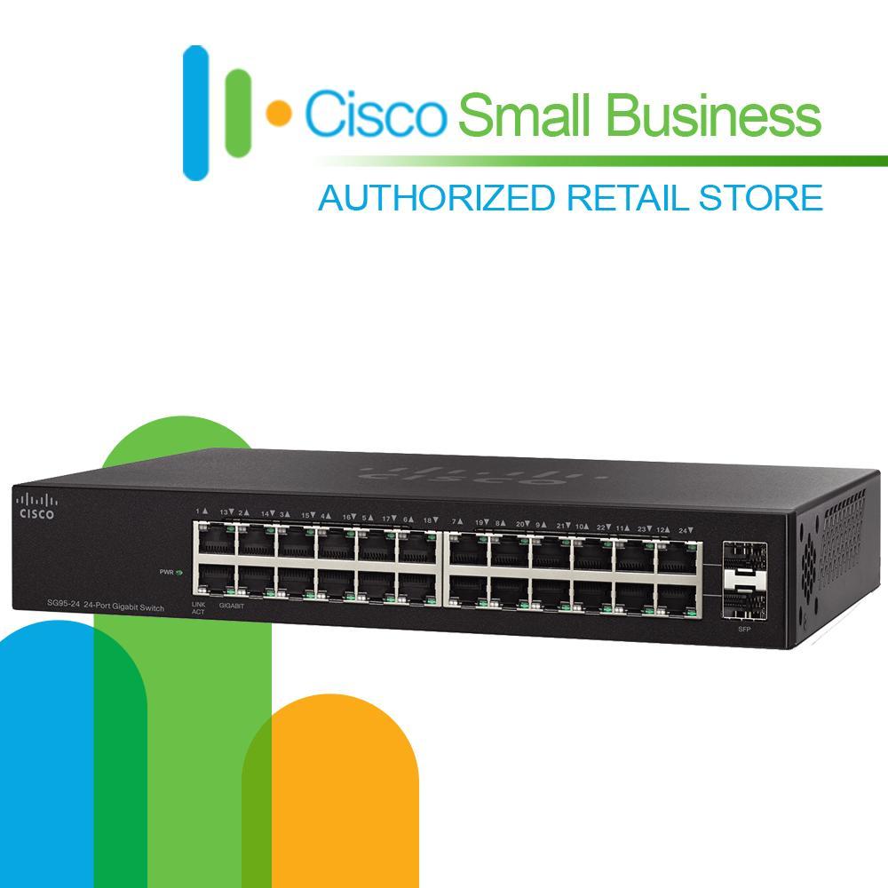 Cisco SG95-24 Compact 24-Port Gigabit Switch