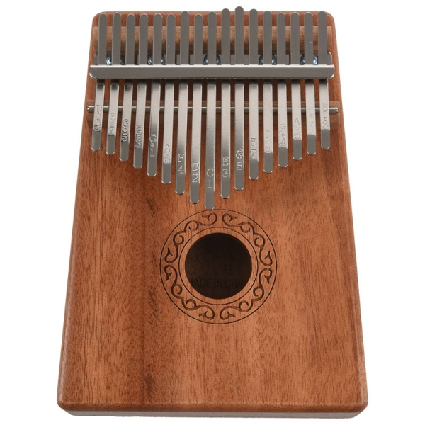 17 Keys Kalimba Thumb Piano Finger Piano Musical Toys With Tune-Hammer And Music Book