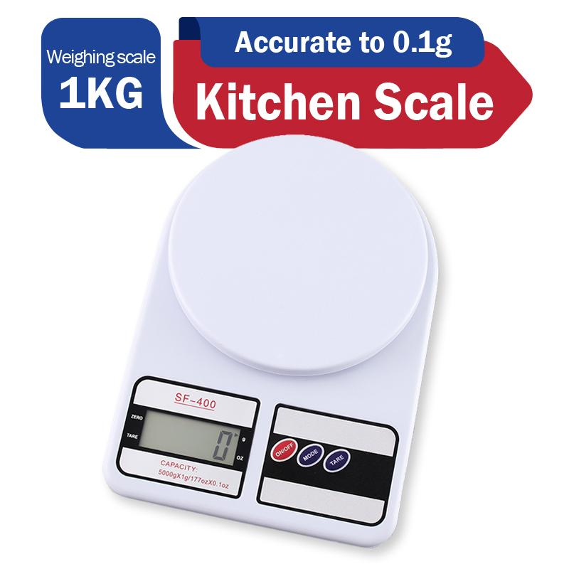 1kG/0 1G Digital LCD Electronic Kitchen Scale Small Electronic Jewelry  Weighing Scale