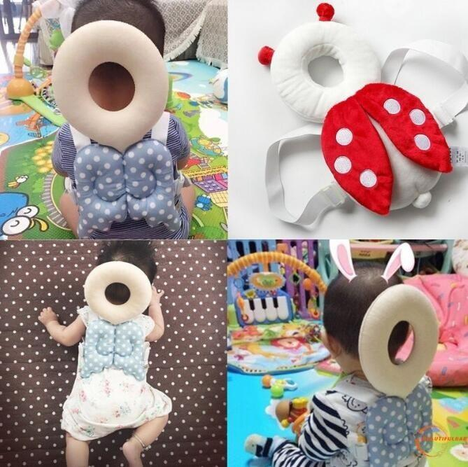 Baby Head Protector Baby Pillow Baby Head Protector Pillow Guard Baby Headrest Toy Safety Head Protector Baby Anti Head Bang Pillow By Ef - Kids And Babies.