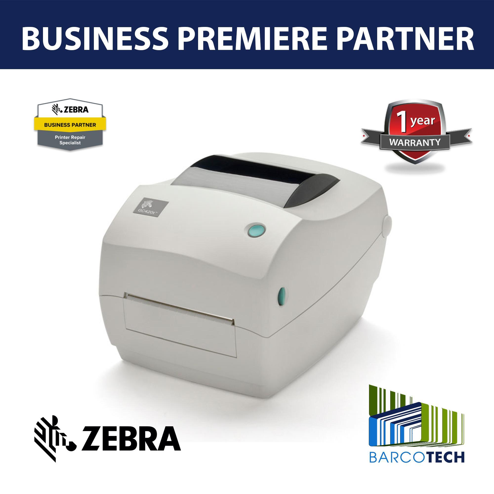 Zebra GC420T Thermal Transfer Barcode Desktop Barcode Printer 203dpi