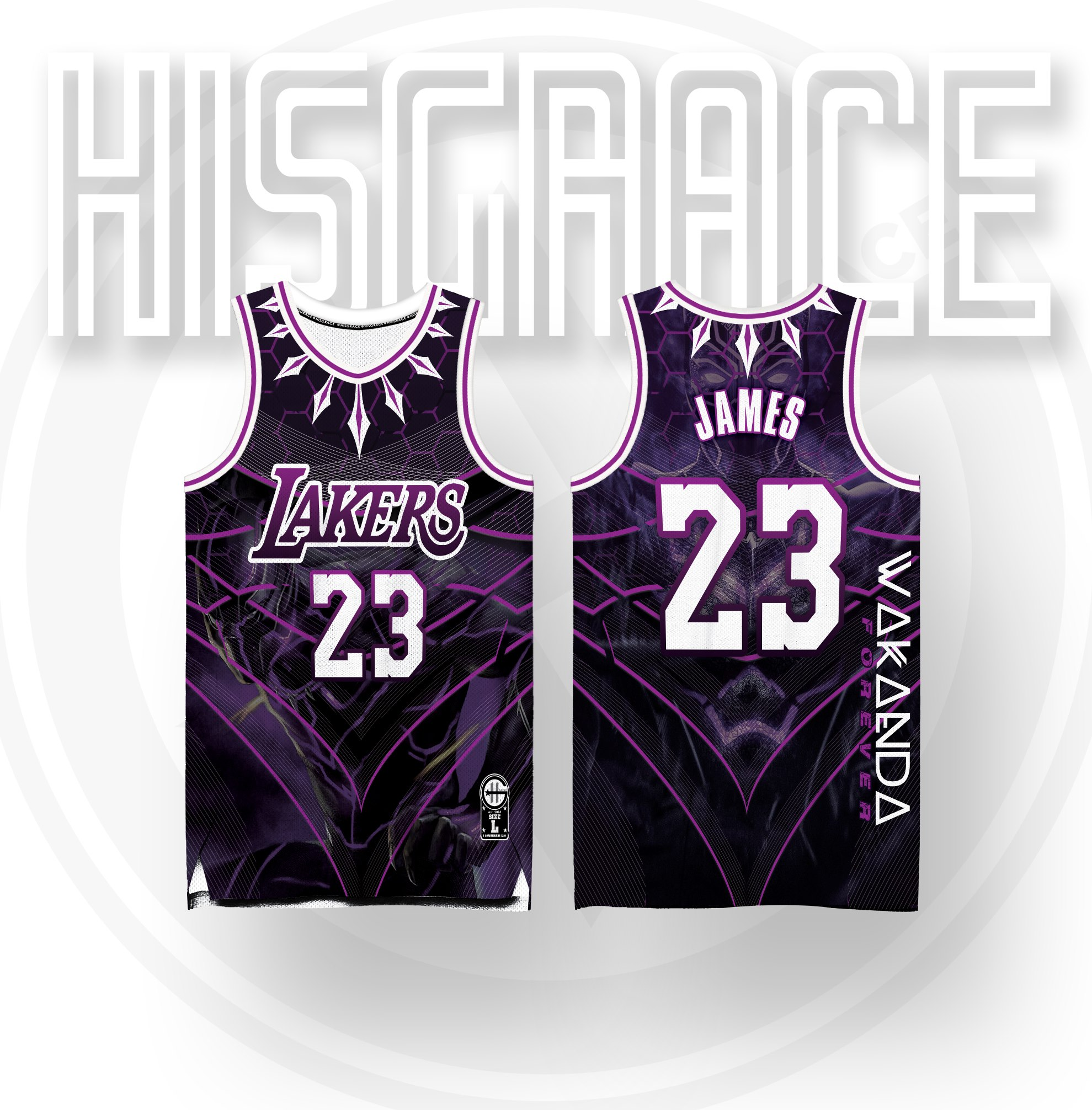 Full Sublimation Jersey Lakers Wakanda Forever Collection | Lazada PH