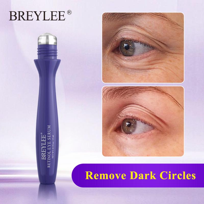Breylee massage mắt Serum mắt Kem Retinol nâng làm săn chắc chống lão hóa phai nếp nhăn tinh chất Mặt nạ mắt chăm sóc da công cụ làm đẹp 15ml giá rẻ