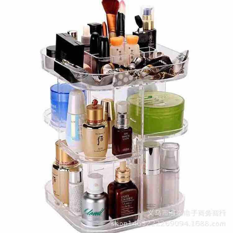 Acrylic 360 Degrees Rotating Organizer SQUARE Philippines