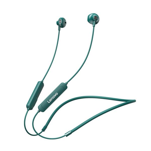 Tai nghe thể thao tai nghe không dây Lenovo SH1 BT5.0 với tính năng giảm tiếng ồn kép / Trình điều khiển động / Tai nghe nhét trong tai chống nước / công thái học IPX5 cho thể thao / âm nhạc Tương thích với iOS Android