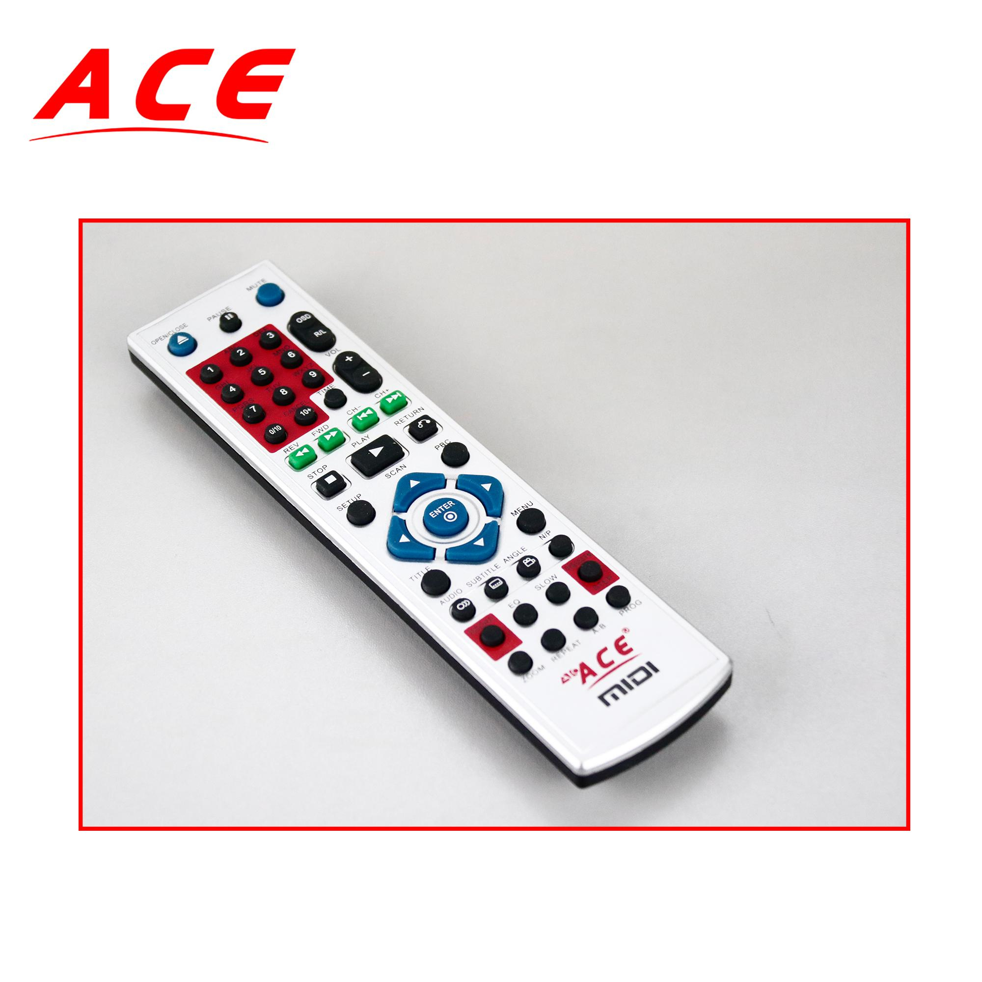 ACE DVD REMOTE CONTROLLERS