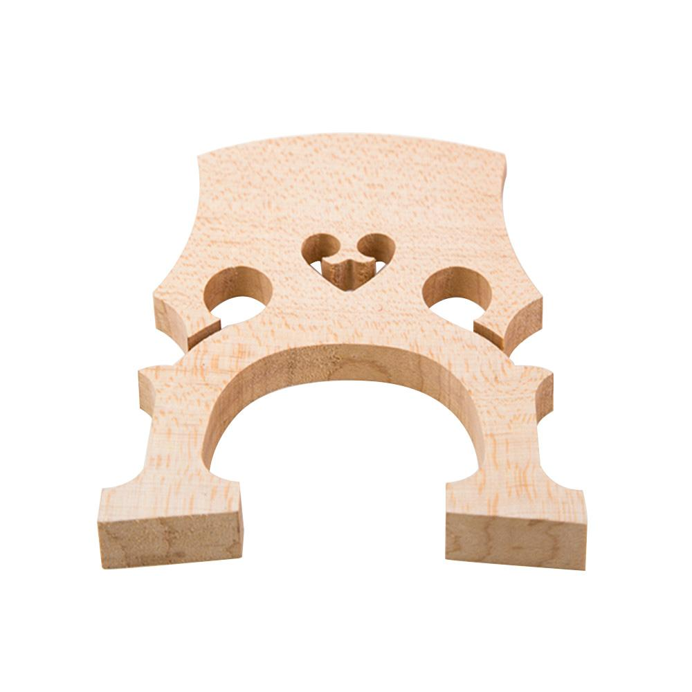 1pc Replacement Part 3/4 Maple Bridge for Double Bass Contrabass Upright Bass