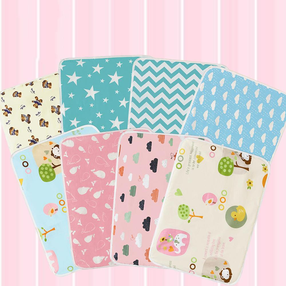 Cotton Soft Diaper Changing  Cover Nappy Urine Pad Absorbent Cloth Mat Towel