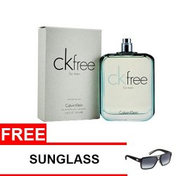 Calvin Klein Free Eau De Toilette for Men 100ml (Tester) with FreeSunglass