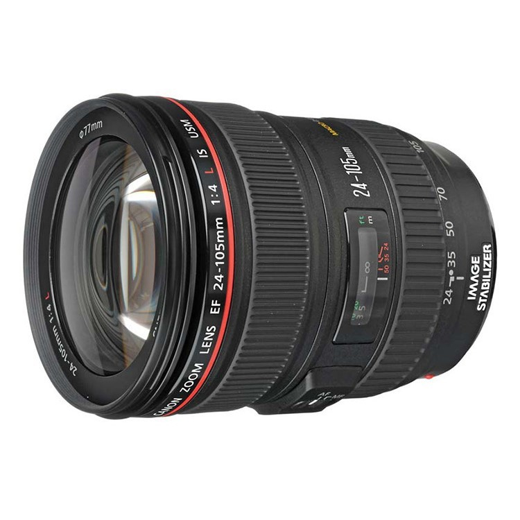 Canon EF 24-105mm f/4L f4L IS USM Lens (Black)