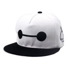 Cap City Unisex CapNime Fashion Cosplay Snapback BayMax Baseball Cap  (White Black) Philippines 51badc23909